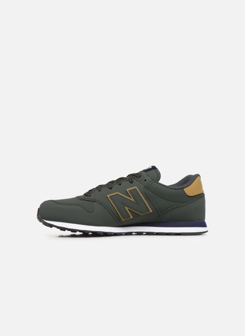 Baskets New Balance GM500 D Vert vue face