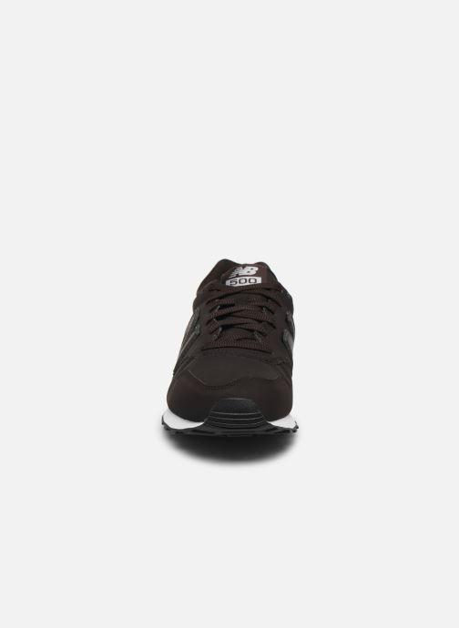 Sneaker New Balance GM500 D braun schuhe getragen
