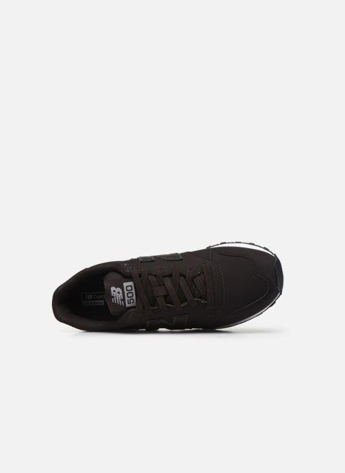 Sneaker New Balance GM500 D braun ansicht von links