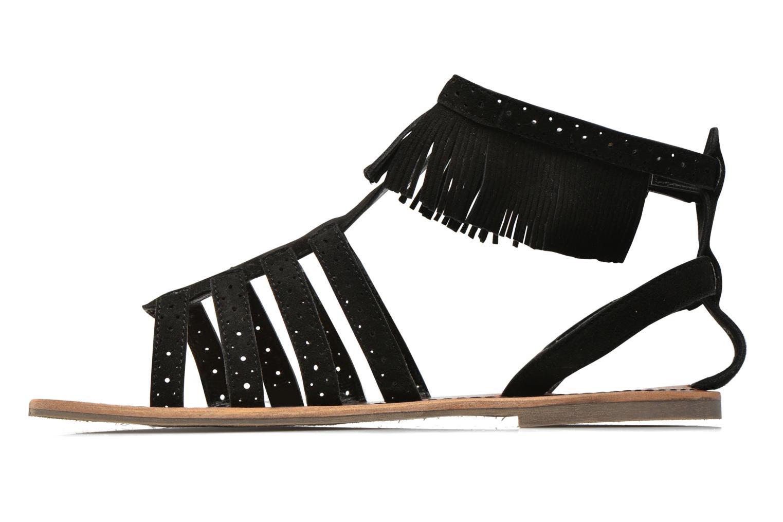Sandalias Pepe jeans Jane fringes Negro vista de frente