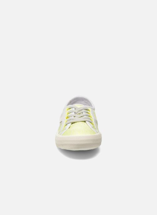 Trainers Pepe jeans Baker fluor Yellow model view