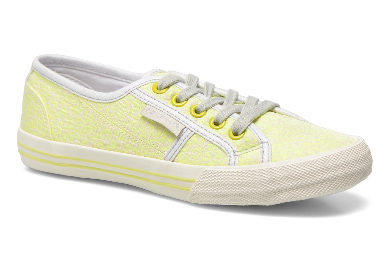Sneaker Pepe jeans Baker fluor gelb detaillierte ansicht/modell