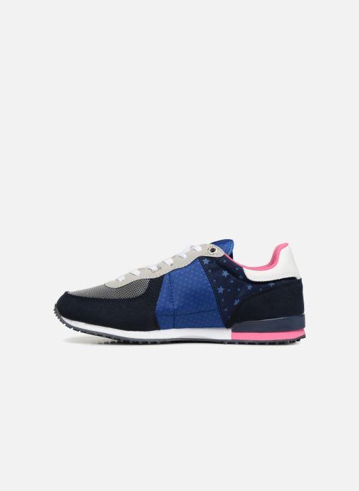 Sneaker Pepe jeans Sydney stars blau ansicht von vorne