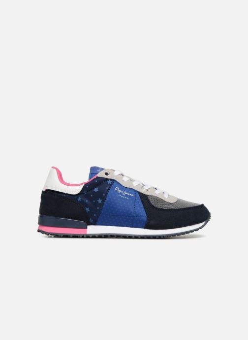 Sneaker Pepe jeans Sydney stars blau ansicht von hinten