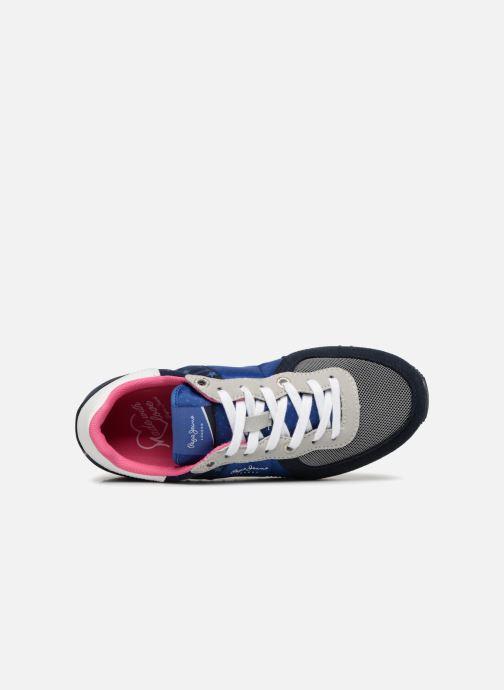 Sneaker Pepe jeans Sydney stars blau ansicht von links