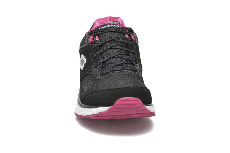 Sportschuhe Skechers Agility - Ramp Up schwarz schuhe getragen
