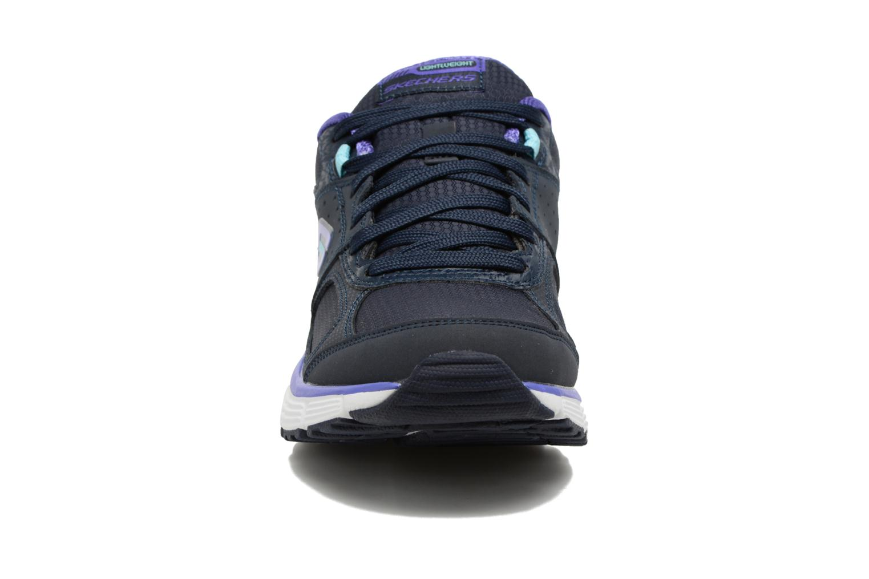 Chaussures de sport Skechers Agility - Ramp Up Violet vue portées chaussures