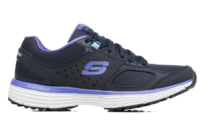 Chaussures de sport Skechers Agility - Ramp Up Violet vue derrière