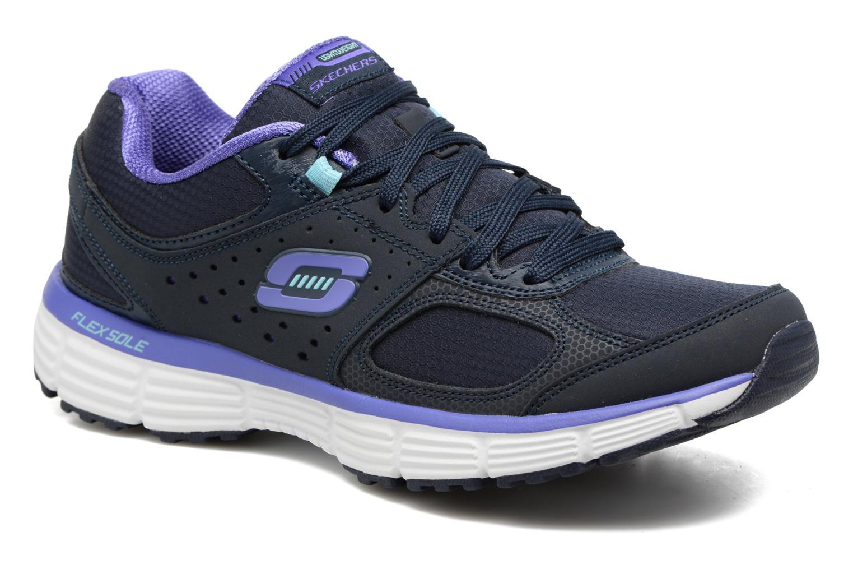 Chaussures de sport Skechers Agility - Ramp Up Violet vue détail/paire
