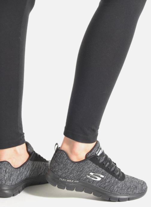 Sneakers Skechers Flex Appeal 2.0 Svart bild från under