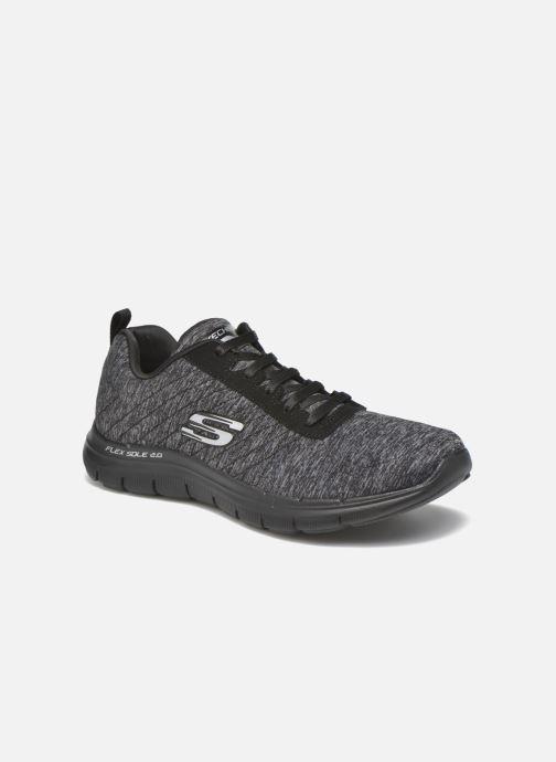 Sneakers Skechers Flex Appeal 2.0 Svart detaljerad bild på paret