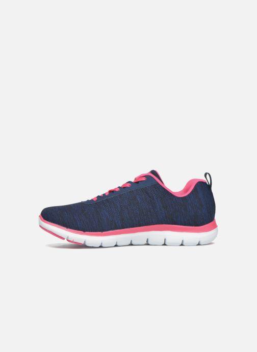 Sneaker Skechers Flex Appeal 2.0 blau ansicht von vorne