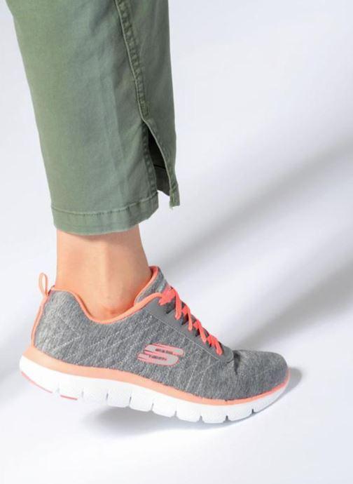 Sneakers Skechers Flex Appeal 2.0 Grijs onder