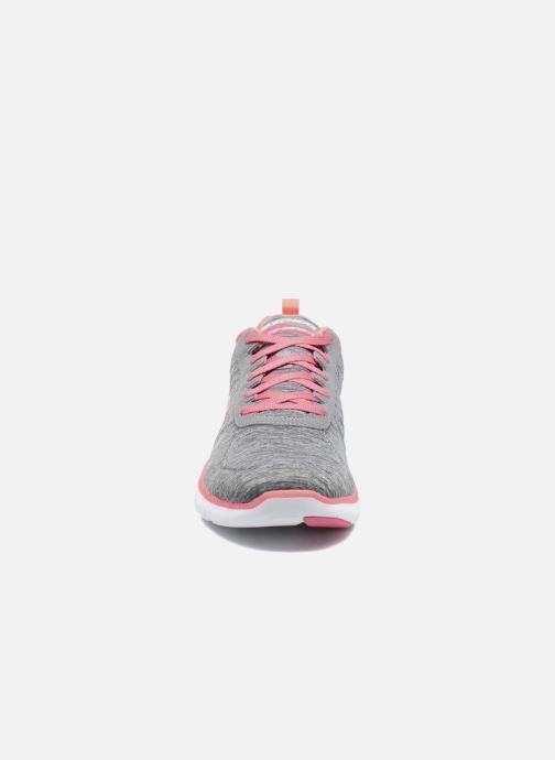 Sneakers Skechers Flex Appeal 2.0 Grå bild av skorna på