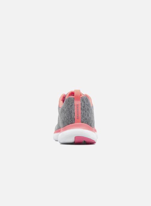 Sneakers Skechers Flex Appeal 2.0 Grå Bild från höger sidan