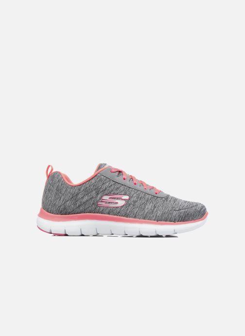 Sneakers Skechers Flex Appeal 2.0 Grijs achterkant