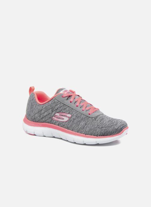 Sneakers Skechers Flex Appeal 2.0 Grå detaljeret billede af skoene