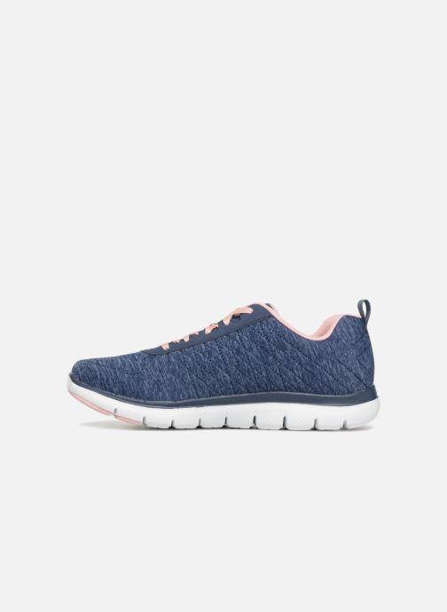 Sneakers Skechers Flex Appeal 2.0 Blå bild från framsidan