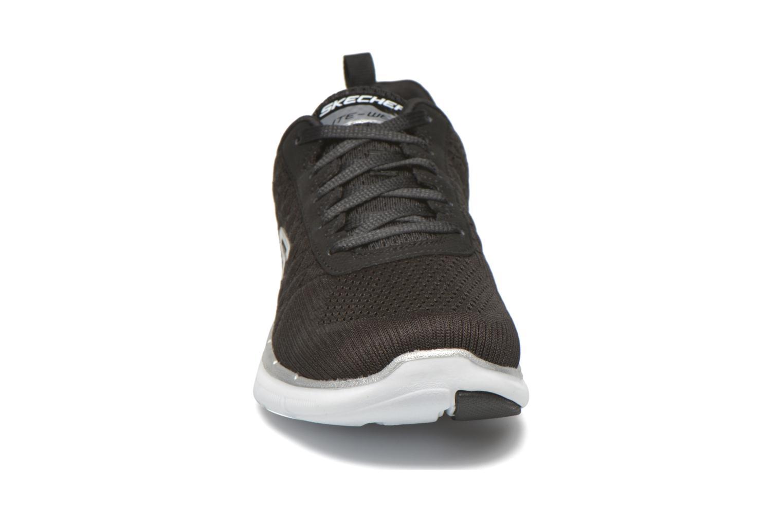 Baskets Skechers Flex Appeal 2.0-Brea Noir vue portées chaussures