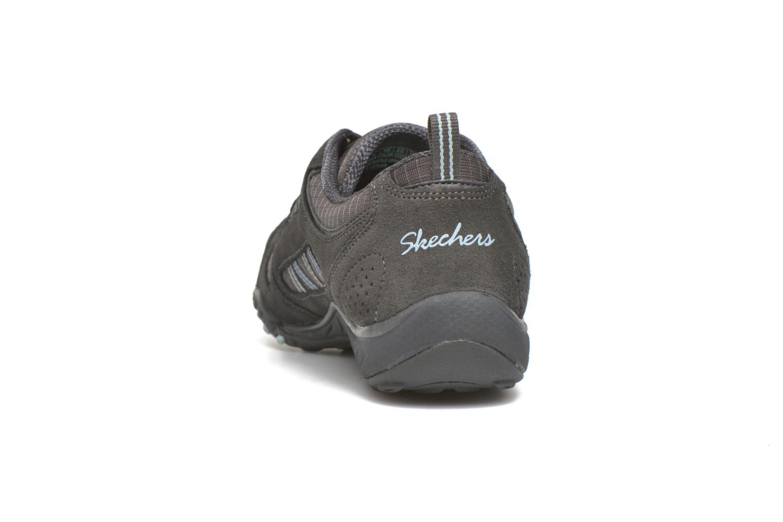 Sneaker Skechers Breathe-Easy - Good grau ansicht von rechts