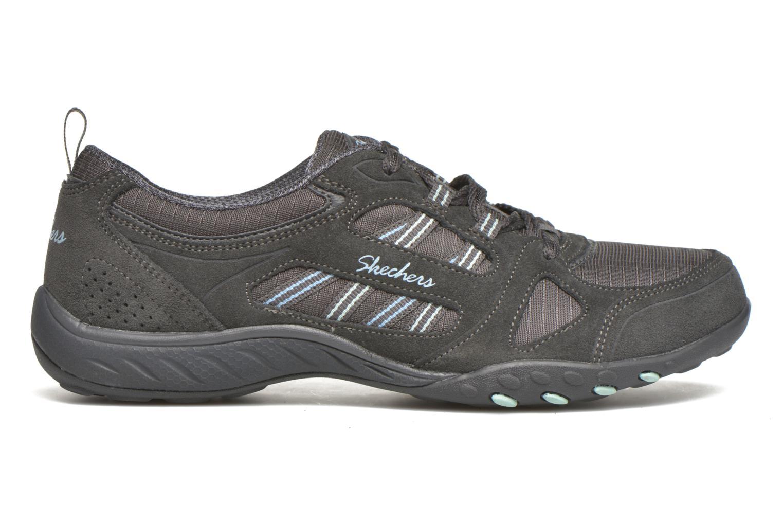 Sneaker Skechers Breathe-Easy - Good grau ansicht von hinten