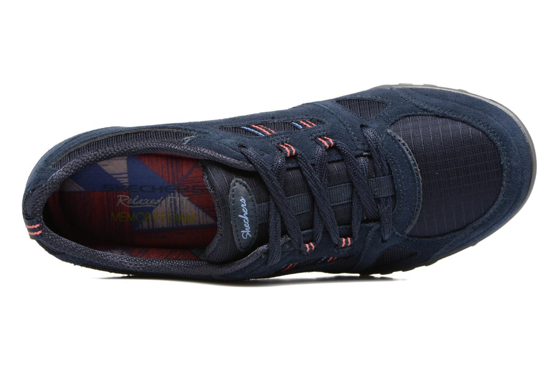 Sneaker Skechers Breathe-Easy - Good blau ansicht von links