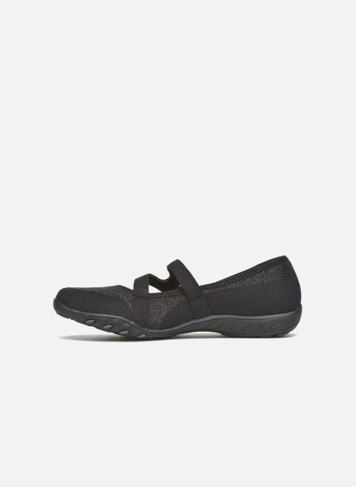 Ballet pumps Skechers Breathe-Easy - Lucky Black front view