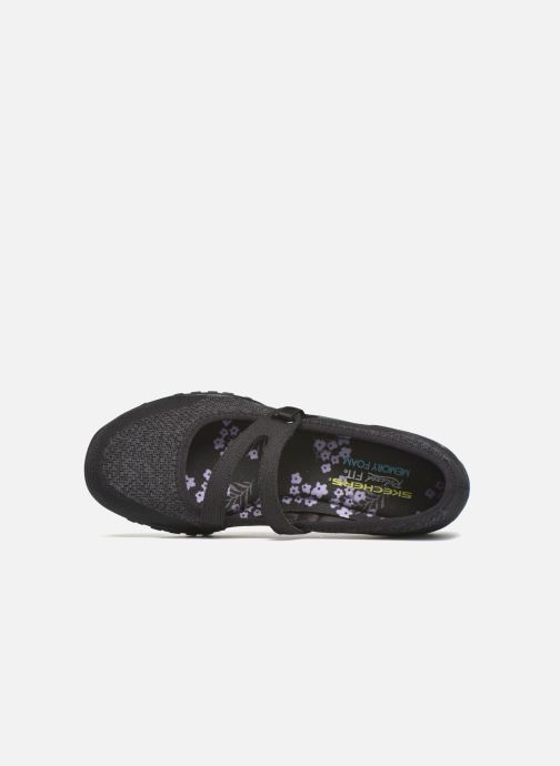 Ballet pumps Skechers Breathe-Easy - Lucky Black view from the left