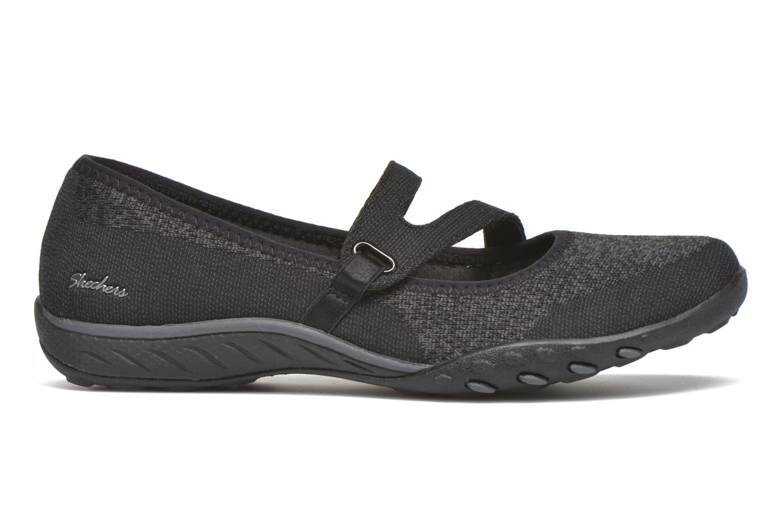 Bailarinas Skechers Breathe-Easy - Lucky Negro vistra trasera