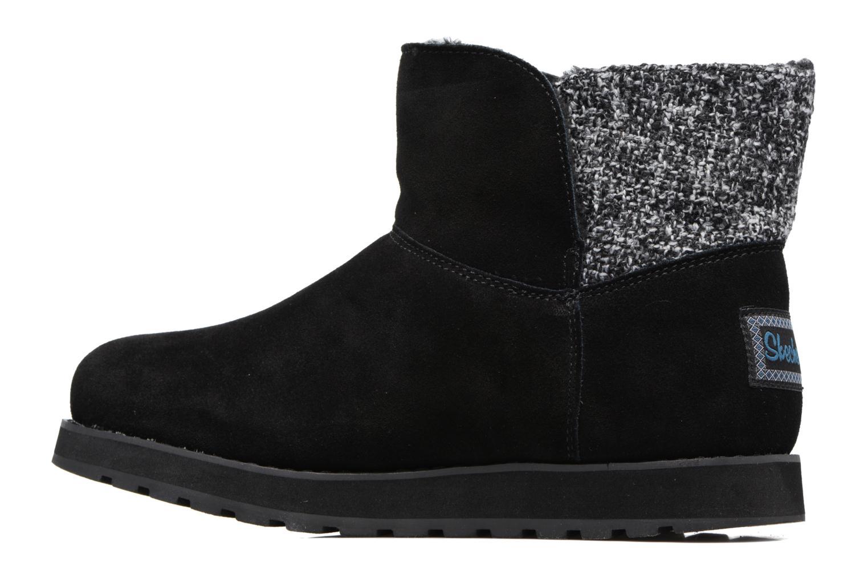 Boots Skechers Keepsakes - Peekaboo Svart bild från framsidan