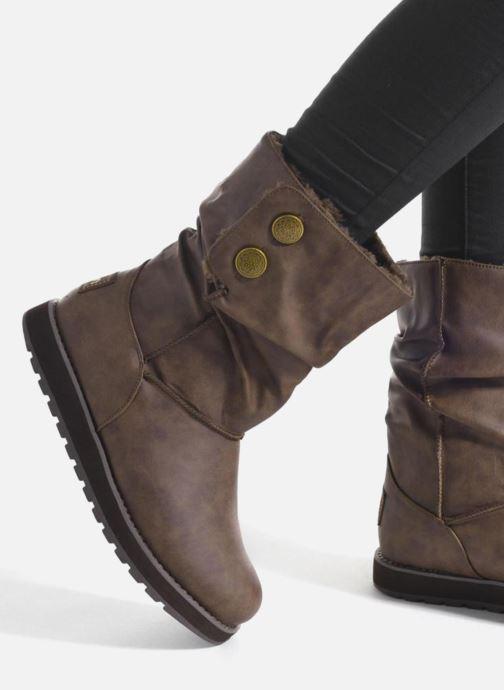 Stövlar & gummistövlar Skechers Keepsakes - Leathere Svart bild från under