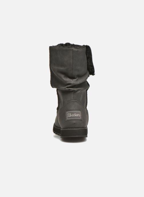 Botas Skechers Keepsakes - Leathere Negro vista lateral derecha