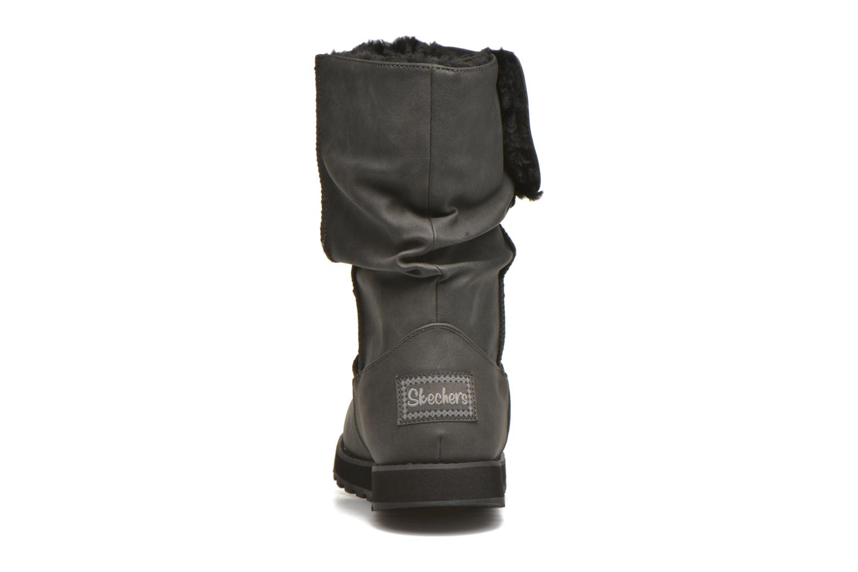Støvler & gummistøvler Skechers Keepsakes - Leathere Sort Se fra højre