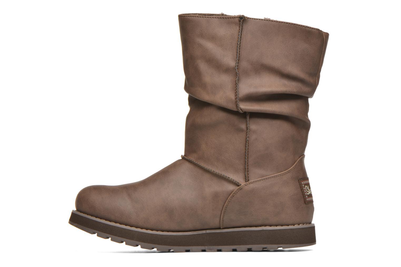 Botas Skechers Keepsakes - Leathere Marrón vista de frente
