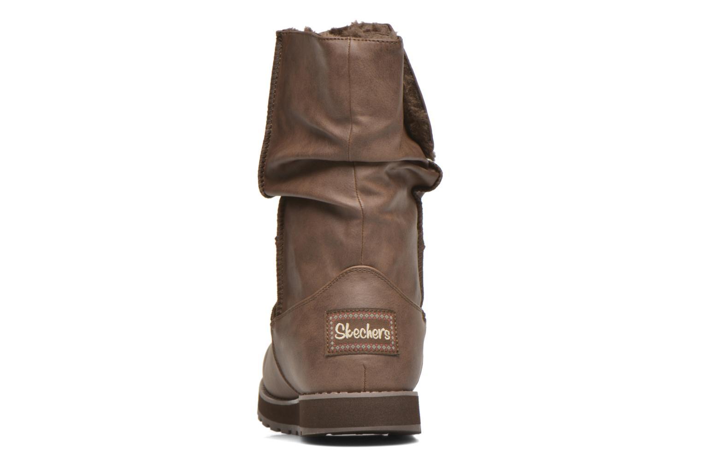 Botas Skechers Keepsakes - Leathere Marrón vista lateral derecha