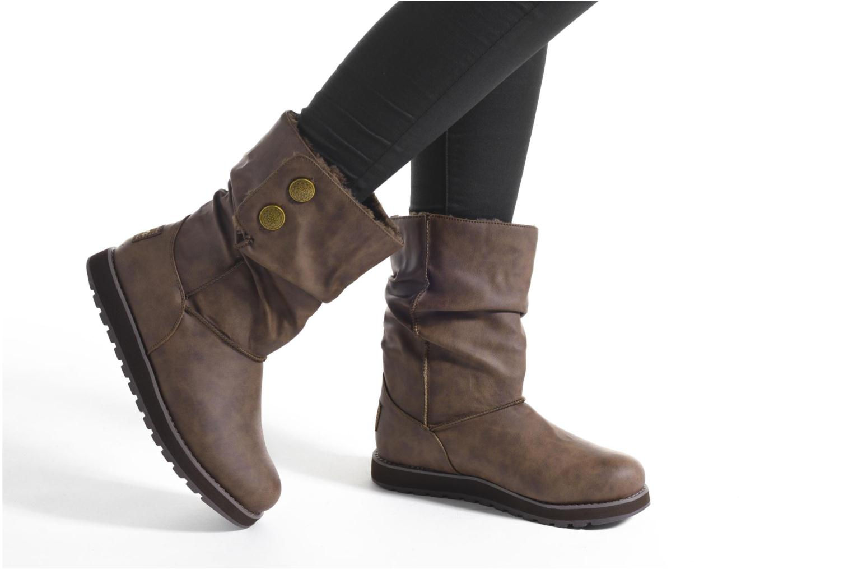 Botas Skechers Keepsakes - Leathere Gris vista de abajo