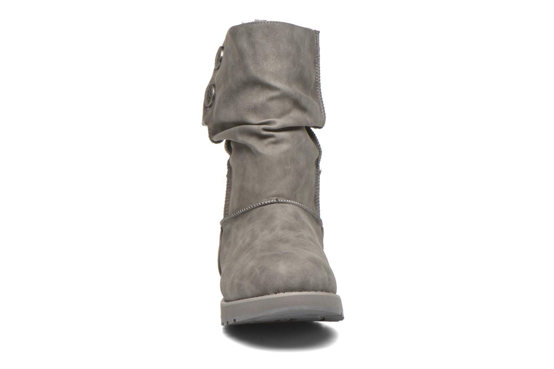 Bottes Skechers Keepsakes - Leathere Gris vue portées chaussures