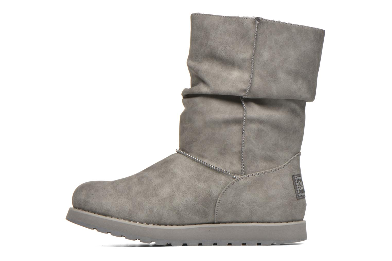 Botas Skechers Keepsakes - Leathere Gris vista de frente