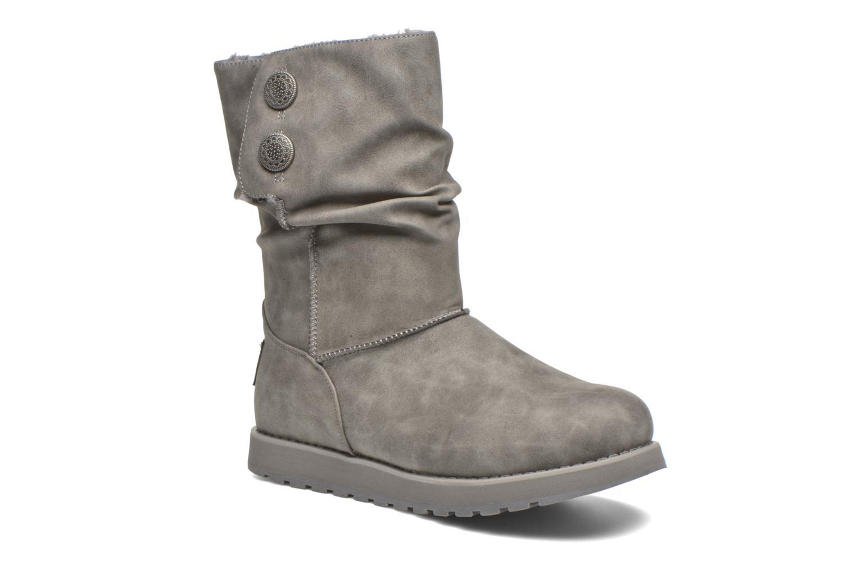 Bottes Skechers Keepsakes - Leathere Gris vue détail/paire