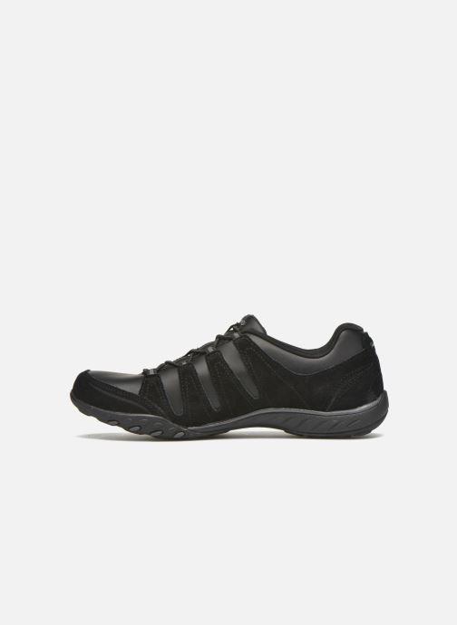 Sneakers Skechers Breath-Easy-Tuned In Svart bild från framsidan