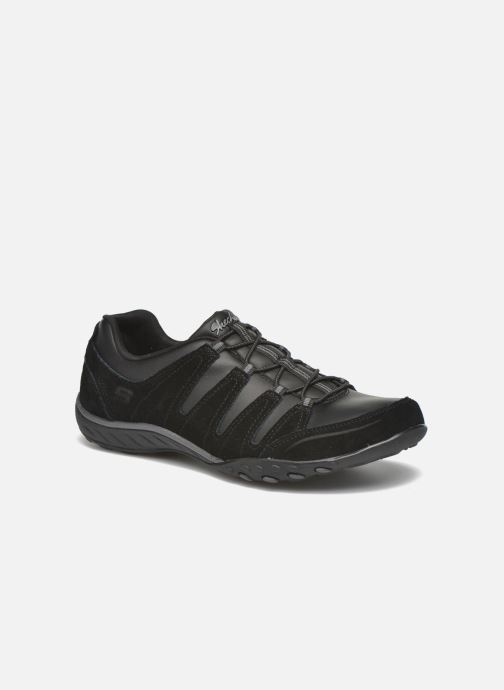 Sneakers Skechers Breath-Easy-Tuned In Svart detaljerad bild på paret