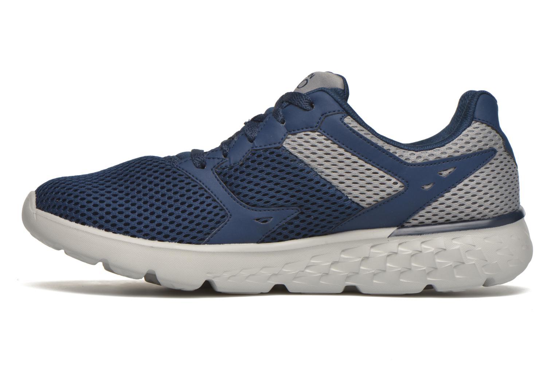 Sportschuhe Skechers Go run 400 blau ansicht von vorne