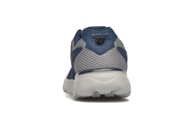 Sportschuhe Skechers Go run 400 blau ansicht von rechts