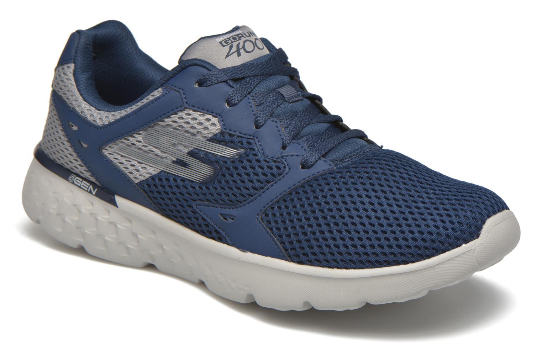 Sportschuhe Skechers Go run 400 blau detaillierte ansicht/modell