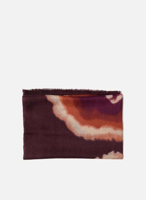 Echarpes et Foulards Bensimon Echarpe imprimée laine 80x200 2 Multicolore vue portées chaussures