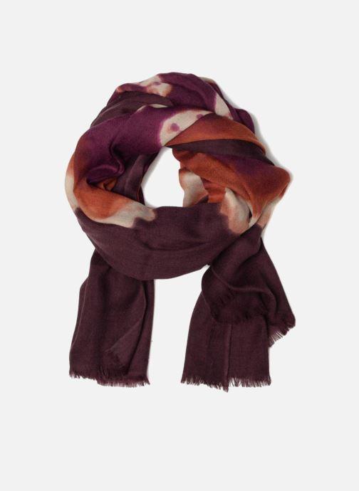 Echarpes et Foulards Bensimon Echarpe imprimée laine 80x200 2 Multicolore vue détail/paire