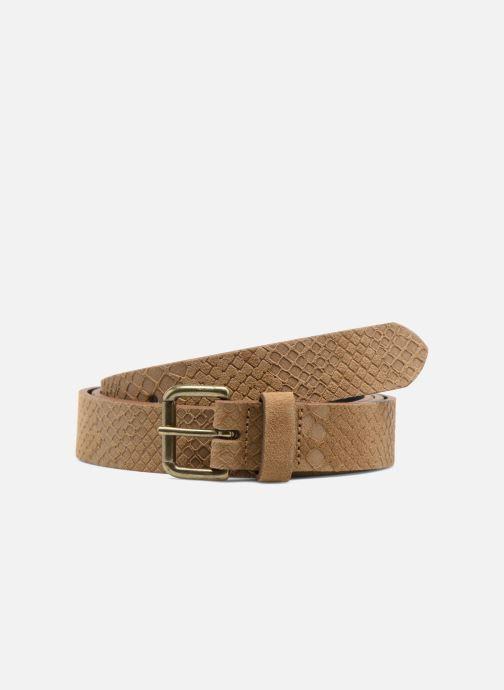 Cinturones Bensimon Ceinture croûte de cuir Beige vista de detalle / par