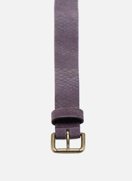 Cinturones Bensimon Ceinture croûte de cuir Violeta      vista del modelo