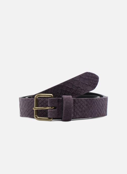 Cinturones Bensimon Ceinture croûte de cuir Violeta      vista de detalle / par