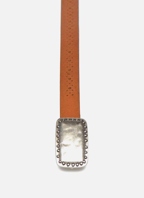 Cinturones Bensimon Ceinture perforée cuir 1 Marrón vista del modelo